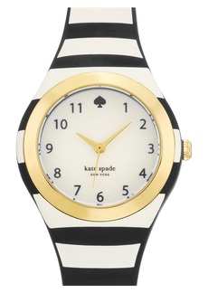 kate spade new york 'rumsey' plastic strap watch, 30mm