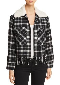 kate spade new york Rustic Plaid Jacket