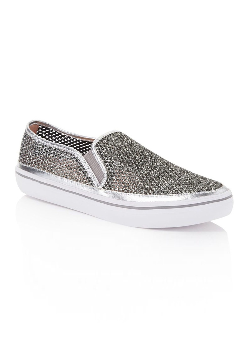 acc1bc0f27e3 Kate Spade kate spade new york Sallie Glitter Mesh Slip-On Sneakers ...