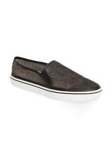 kate spade new york sallie metallic mesh slip-on sneaker (Women)