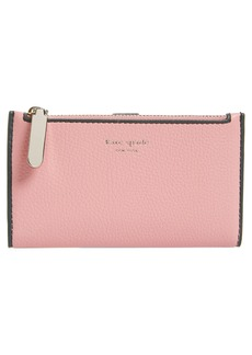 kate spade new york sam leather bifold wallet