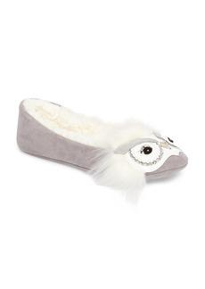 kate spade new york samantha owl slipper (Women)