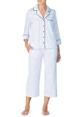 kate spade new york sateen capri pajamas