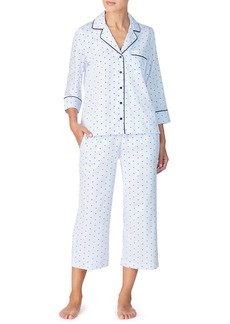 kate spade new york sateen capri pajamas