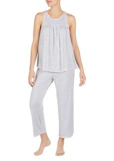 kate spade new york Satin Bow Pajama Set