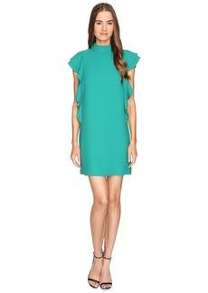 Kate Spade New York Satin Crepe Flutter Sleeve Dress