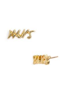 kate spade new york 'say yes - mrs' stud earrings