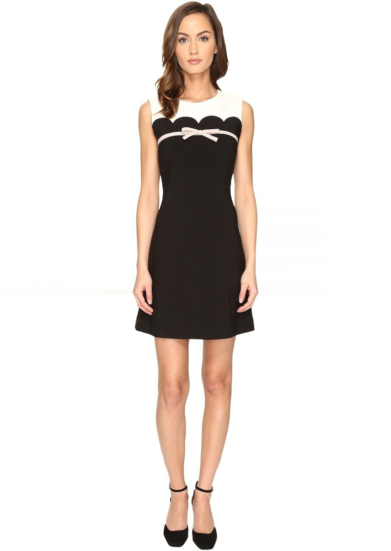 5edd269bc77 Kate Spade Kate Spade New York Scallop Bow A-Line Dress