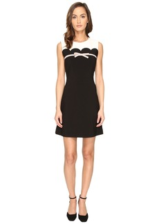 Kate Spade New York Scallop Bow A-Line Dress