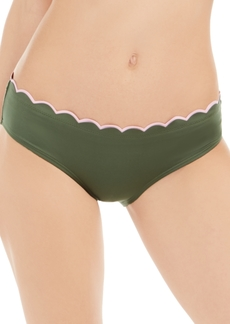 kate spade new york Scallop Wave Hipster Bikini Bottoms Women's Swimsuit