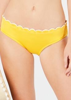 kate spade new york Scalloped Hipster Bikini Bottoms Women's Swimsuit