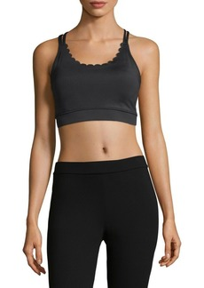 Kate Spade Scalloped Sports Bra