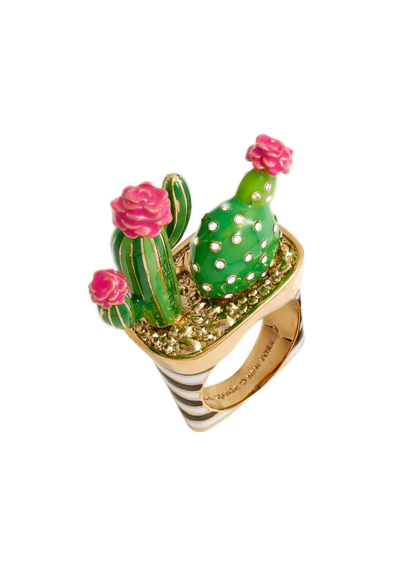 Kate Spade Kate Spade New York Scenic Route Cactus Ring Jewelry