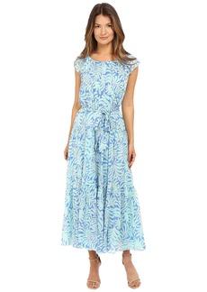 Kate Spade New York Sea Ferns Chiffon Patio Dress