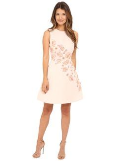 Kate Spade New York Sea Ferns Embellished Dress