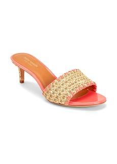 kate spade new york Seberg Raffia Slide Sandal (Women)
