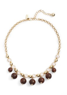 kate spade new york second nature frontal necklace
