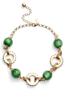 kate spade new york second nature statement collar necklace
