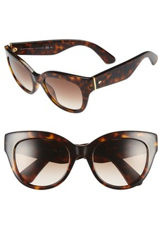 kate spade new york 'sharlots' 52mm sunglasses