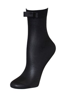 KATE SPADE NEW YORK Sheer Bow Anklet Socks