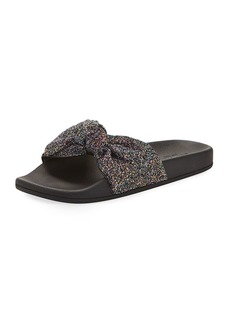 kate spade new york shellie glitter slide pool sandal