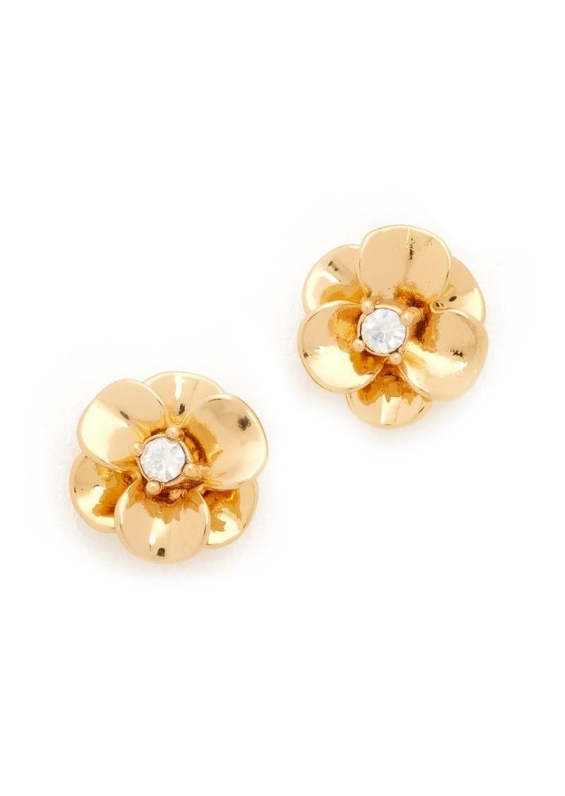 4967bc95039c9b Kate Spade Kate Spade New York Shine On Flower Stud Earrings   Jewelry