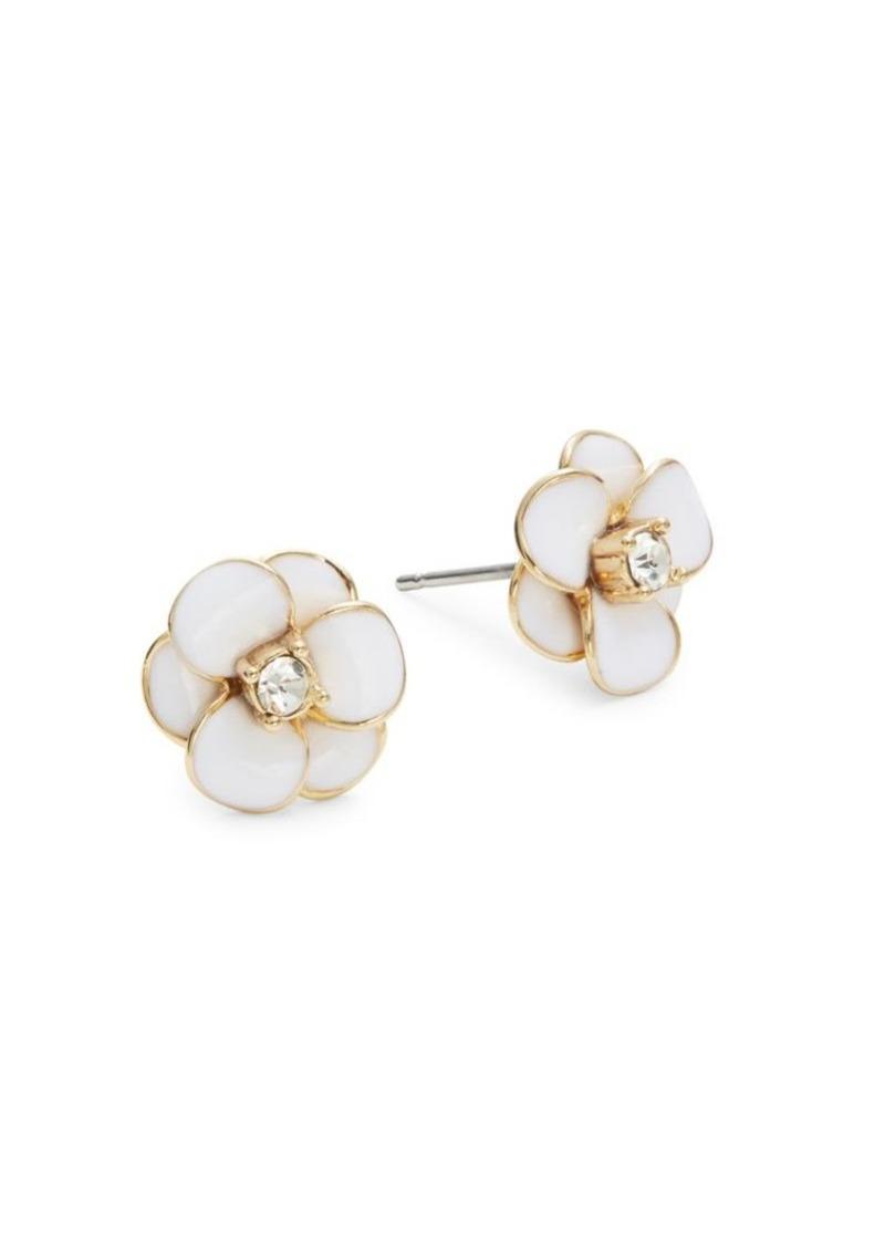 Kate Spade New York Shine On Flower Stud Earrings Jewelry
