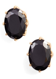kate spade new york shine on oval stud earrings