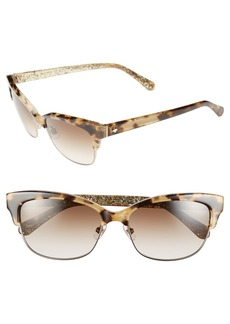 kate spade new york shira 55mm retro sunglasses