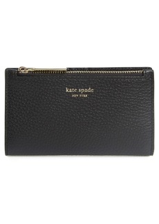 kate spade new york shirley leather slim bifold wallet