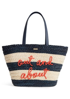 kate spade new york shore thing - out and about straw tote