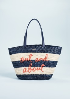 Kate Spade New York Shore Thing Out & About Straw Tote