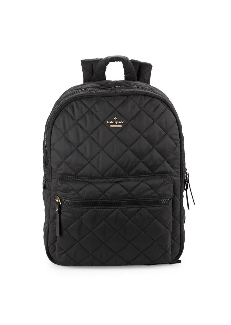 KATE SPADE NEW YORK Siggy Quilted Backpack