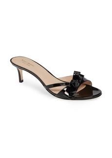 kate spade new york simona bow slide sandal (Women)