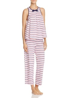 kate spade new york Sleeveless Cropped PJ Set