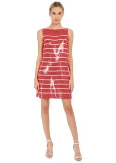 Kate Spade New York Sleeveless Sequin Stripe Dress