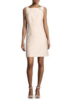 kate spade new york sleeveless structured a-line cocktail dress