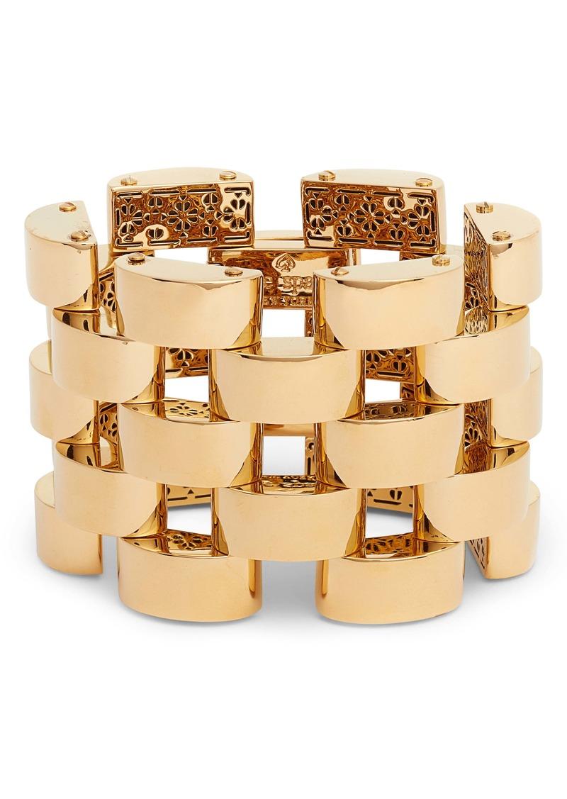 kate spade new york sliced scallops bracelet
