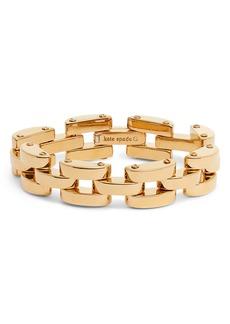 kate spade new york sliced scallops chain bracelet