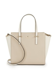 KATE SPADE NEW YORK Small Hayden Leather Satchel