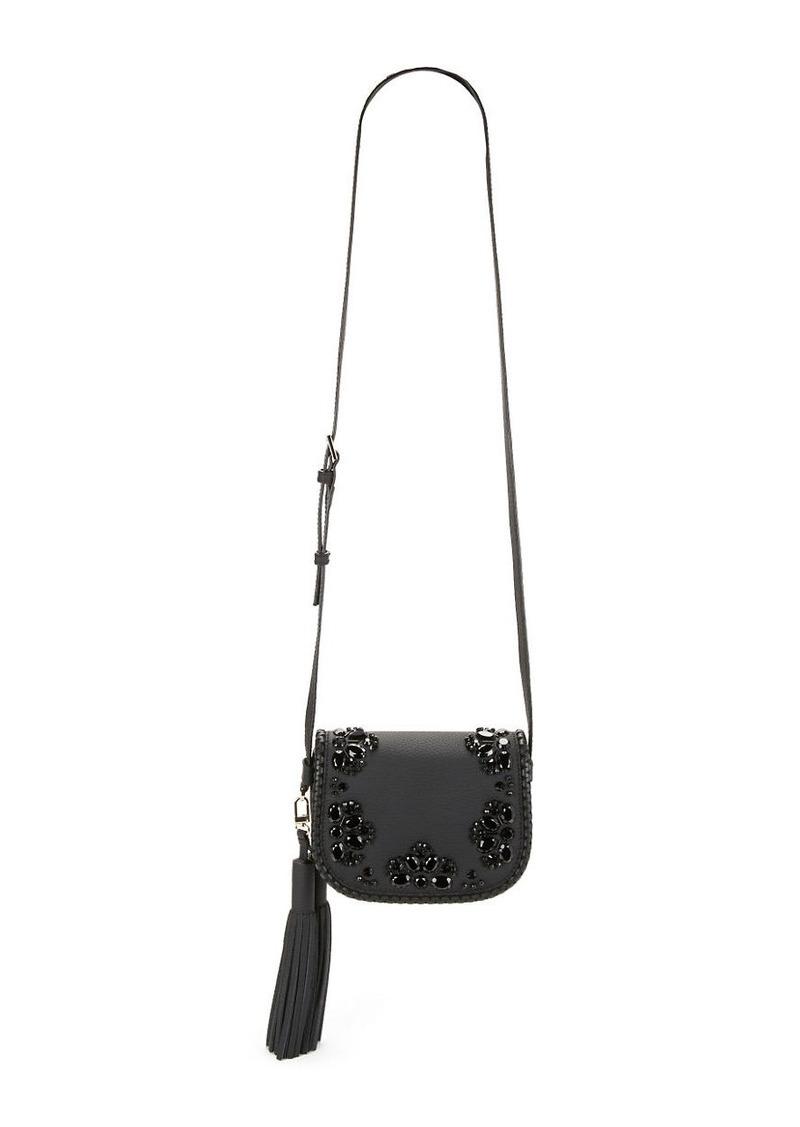 KATE SPADE NEW YORK Small Lietta Leather Saddle Bag