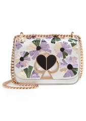 kate spade new york small nicola wallflower leather shoulder bag