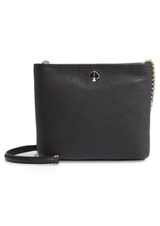 kate spade new york small polly leather crossbody bag