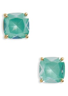 kate spade new york small square enamel stud earrings