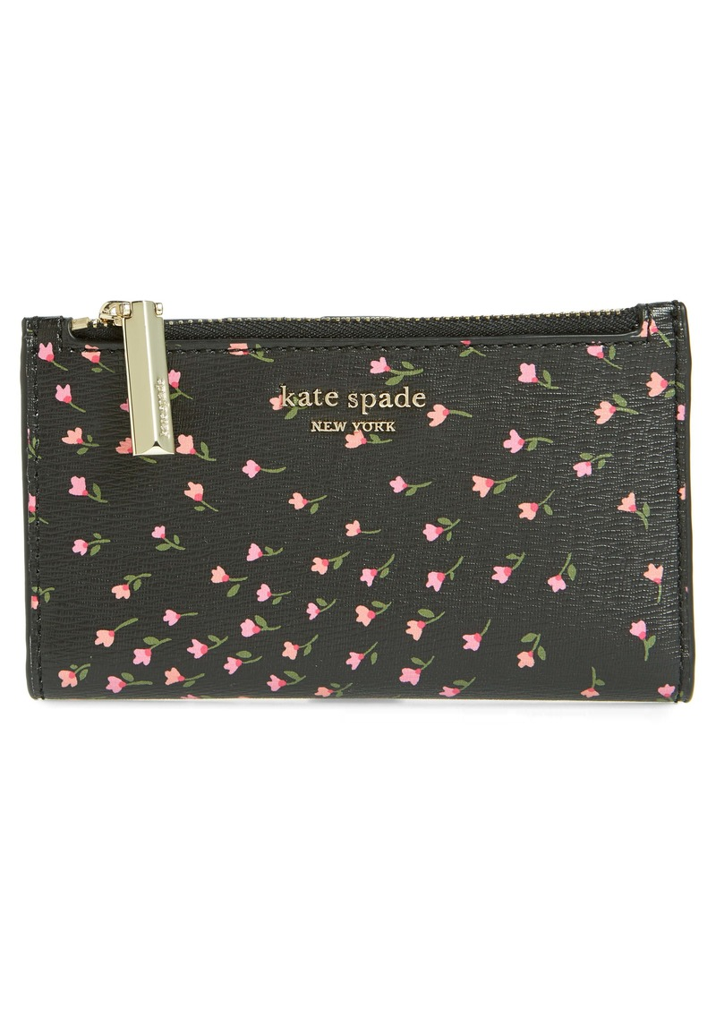 kate spade new york small sylvia faux leather bifold wallet
