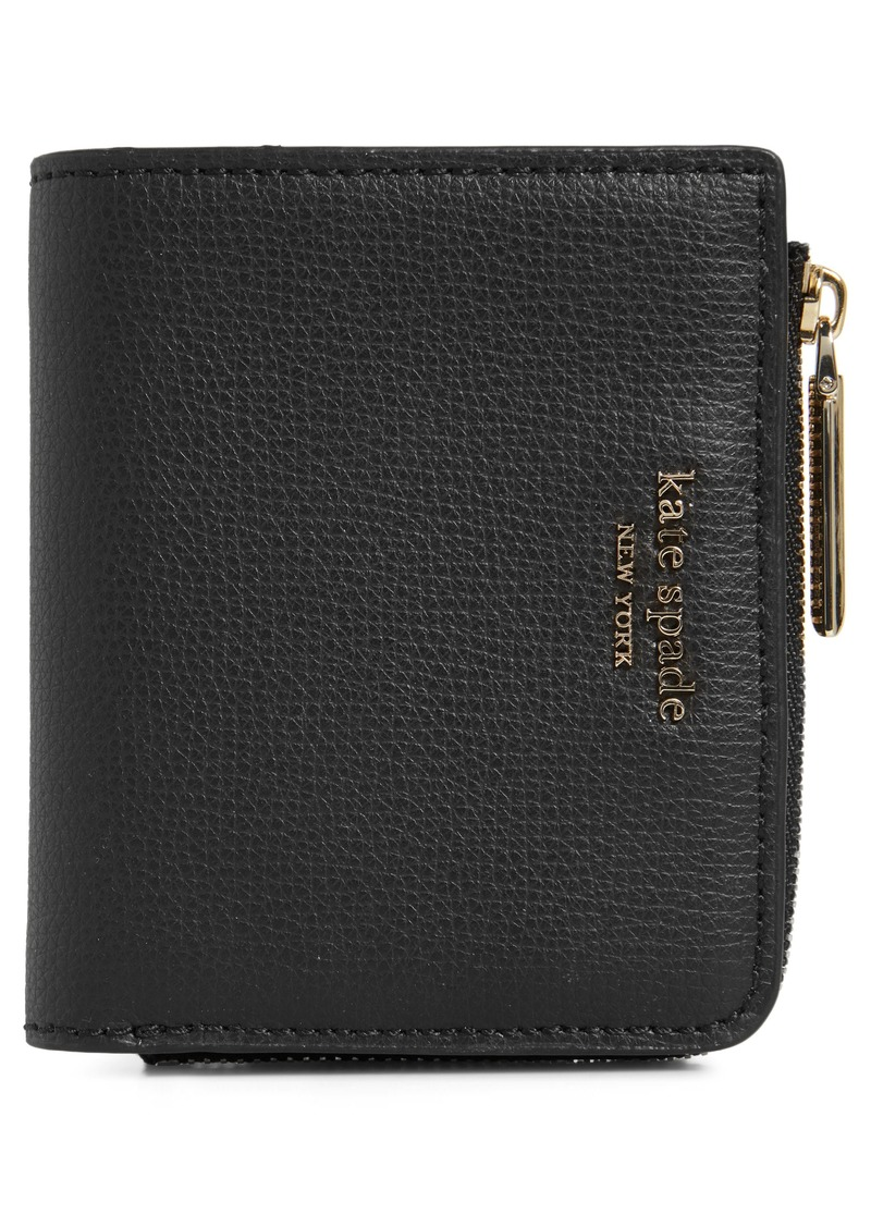 kate spade new york small sylvia leather bifold wallet