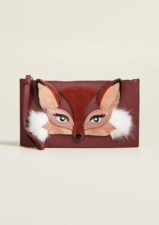 Kate Spade New York So Foxy Fox Ariah Wristlet