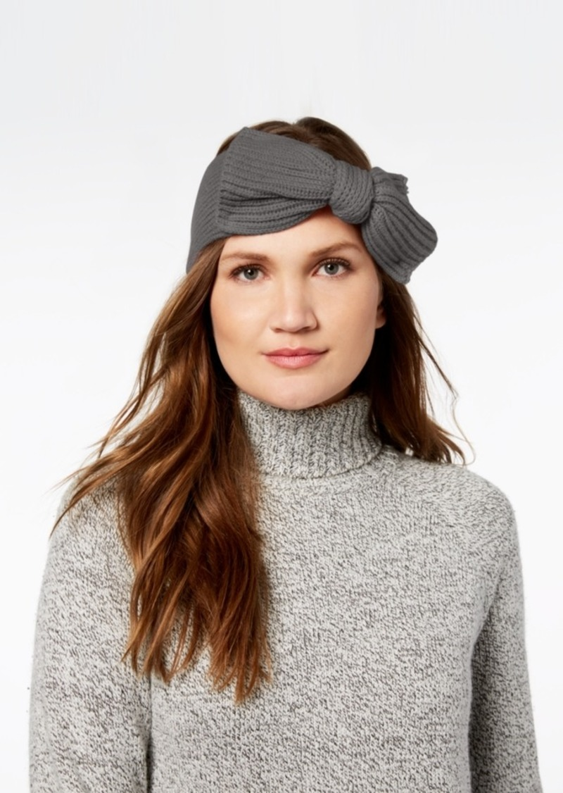 kate spade new york Solid Bow Knit Headband