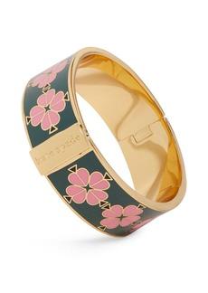 kate spade new york Spade Floral Bangle Bracelet