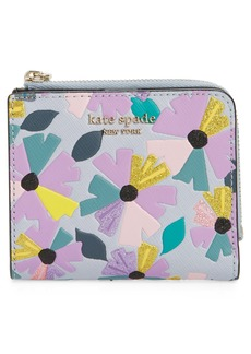 kate spade new york spencer glitter wallflower wallet